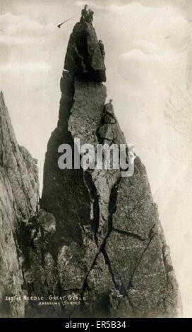 The Needle, Great Gable, Seascale, Cumbria, England.  1900s - Stock Photo