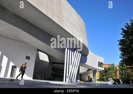 Museum Maxxi, National Museum of the 21st Century Arts in Rome, Italy - Stock Photo