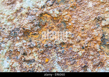 Colors and Porous Surface of Rust Stock Photo - Stock Photo