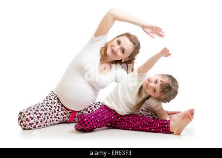 belly tummy sport gymnastics pregnancy yoga ball young ...