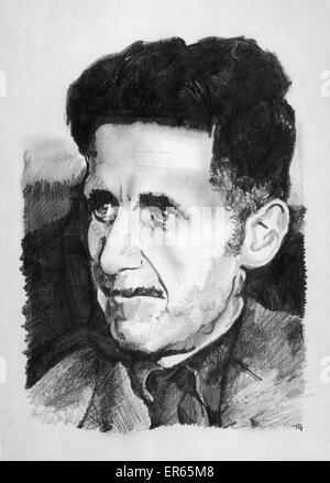 a literary analysis of 1984 by george orwell or eric arthur blair George orwell's 1984: a prophecy come true updated on and absurdity of the indian-born englishman eric arthur blair, who wrote under the pen name george orwell.