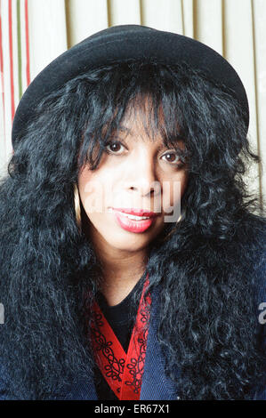 Donna Summer, 2nd May 1989. - Stock Photo