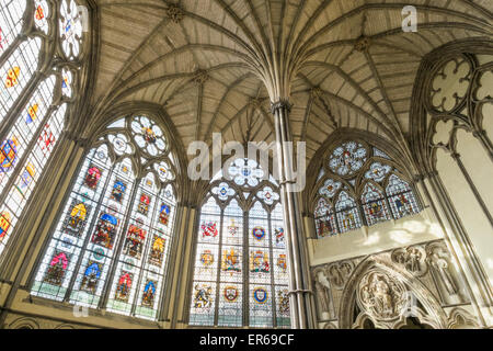 England, London, Westminster Abbey, The Chapter House - Stock Photo