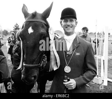 Equestrian Eventing at the Munch Olympic Games, Friday 1st September  1972. Richard Meade, British Olympic Individual - Stock Photo
