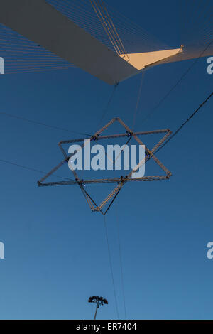 Chords Bridge Mast Stock Photo: 182950597 - Alamy