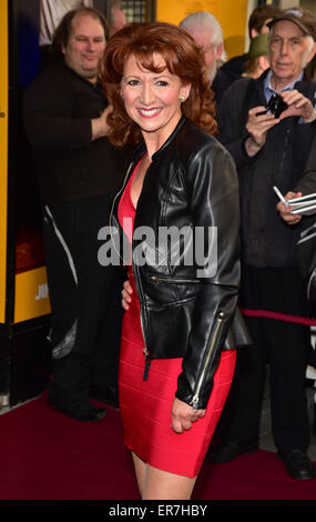 London, UK, 28th May 2015 : A hosts of celebrities guests arrives at the Just Jim Dale press night at Vaudeville - Stock Photo