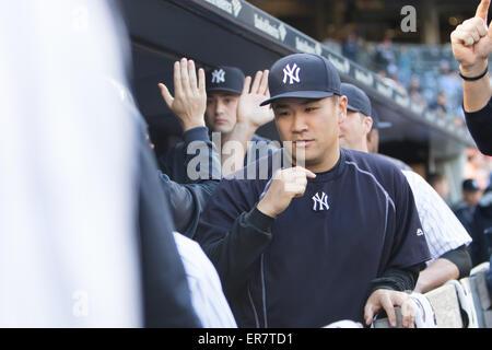 Bronx, New York, USA. 22nd May, 2015. Masahiro Tanaka (Yankees) MLB : Pitcher Masahiro Tanaka of the New York Yankees - Stock Photo