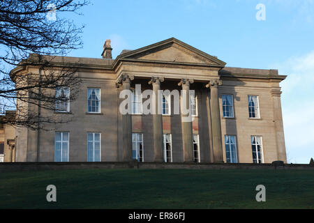 The Mansion at Roundhay Park, Leeds, Yorkshire - Stock Photo