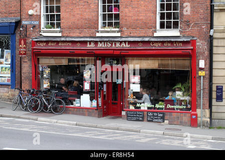 Wirksworth Market Place Cafe in the Derbyshire Peak District - Stock Photo