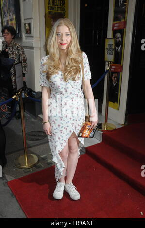 London, UK, 18 May 2015, Becky Hill attends premiere of Sunny Afternoon based on the story of the Kinks at the Harold - Stock Photo