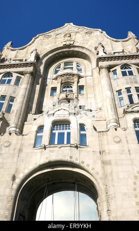Four Seasons Hotel Gresham Palace Budapest Hungary - Stock Photo