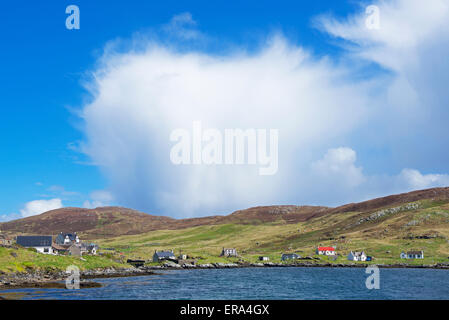 The Isle of Barra, Outer Hebrides, Scotland UK - Stock Photo