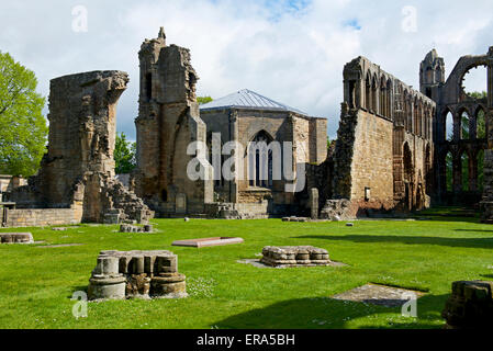 The Cathedral, Elgin, Moray, Scotland UK - Stock Photo
