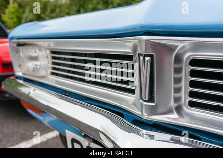 Front of a 1978 Vauxhall Viva - Stock Photo