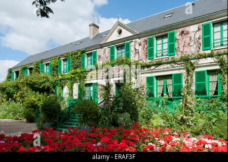 Claude Monet Haus giverny departement eure france europe - Stock Photo