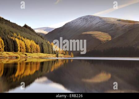 Talla Reservoir, Tweedsmuir, Peeblesshire, Scottish Borders, Scotland - Stock Photo