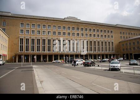 Flughafen Tempelhof, Berlin-Tempelhof. - Stock Photo