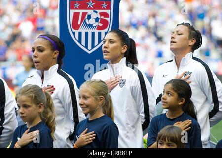 May 30, 2015: USA Women's National Team goalkeeper Ashlyn ...