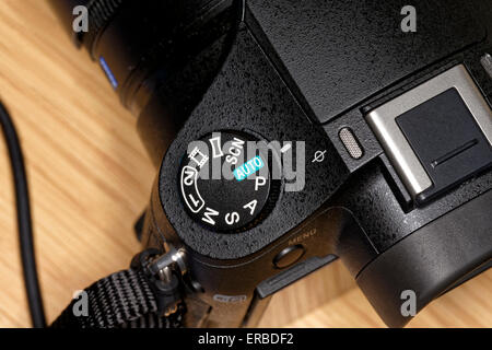 A Sony Cybershot DSC-RX10 Digital Still Camera. - Stock Photo