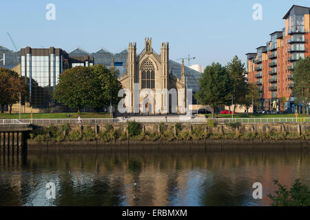 St. Andrew's Roman Catholic Cathedral, Clyde Street, Glasgow. - Stock Photo