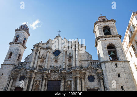 Cathedral of Saint Christopher of Havana, Cuba - Stock Photo