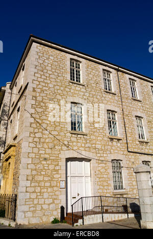 Income tax office, Gibraltar, Europe - Stock Photo