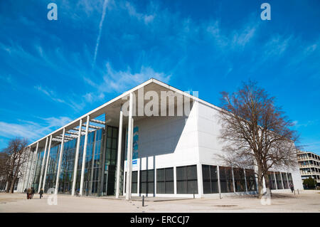 Pinakothek der Moderne, museum of 18th and 19th century art, Maxvorstadt, Munich, Bavaria, Germany - Stock Photo