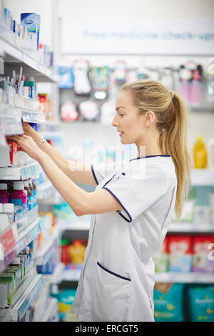 Previously known as the Co-operative Pharmacy Well Pharmacy at Gorse Stacks Integrated Care Centre, Delamere Street, - Stock Photo