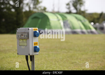 Campsite hook up voltage