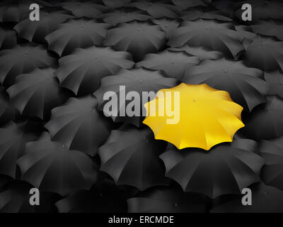 Standing out, difference, originality concept. - Stock Photo