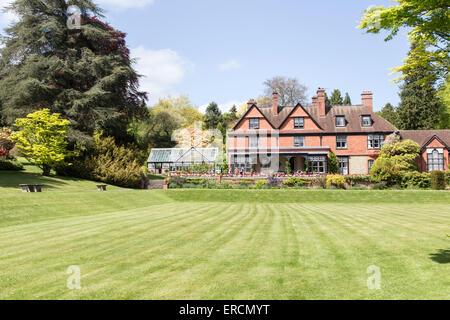 Springtime at Hergest Croft Gardens near Kington, Herefordshire, England, UK - Stock Photo
