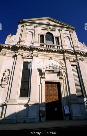 italy, veneto, verona, church of San Giorgio in Braida - Stock Photo