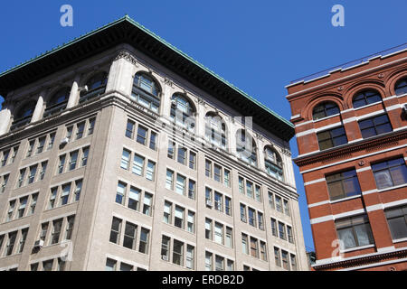 Loft building in TriBeCa, New York City - Stock Photo