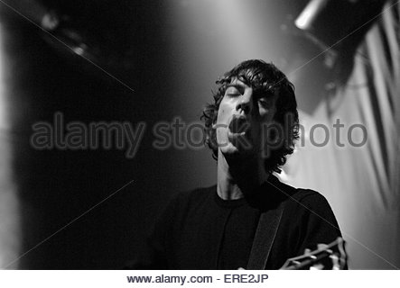 Richard Ashcroft performing in Bristol, November 2002. - Stock Photo