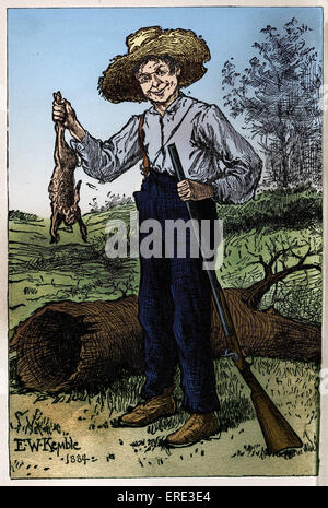 """the adventures of huckleberry finn by mark twain 4 essay In the novel """"the adventures of huckleberry finn"""" mark twain uses a specific literary technique, a first person personal point of view, to unveil the message of the novel and create a unique."""