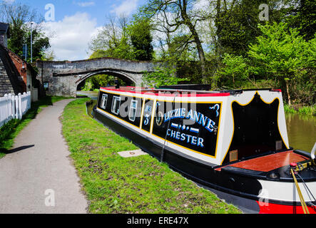 Built over 200 years ago, the British canals are steeped with tales to tell. They meander through our green countryside. - Stock Photo