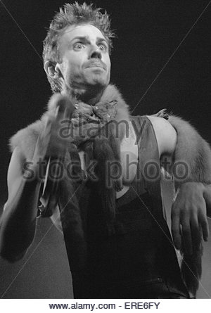 Jake Shears of Scissor Sisters performing at the Anson Rooms Bristol 31 March 2003 - Stock Photo