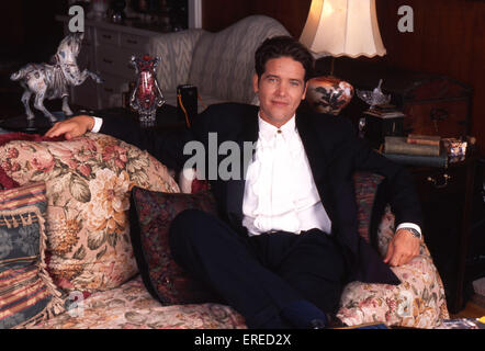 Michael Damian, portrait in his home in Los Angeles, USA. American actor, singer and producer, b April 26, 1962 - Stock Photo