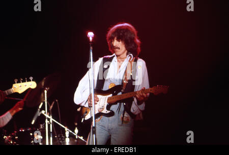 George Harrison, performing in Los Angeles, USA. English singer, songwriter, guitarist and former member of the - Stock Photo
