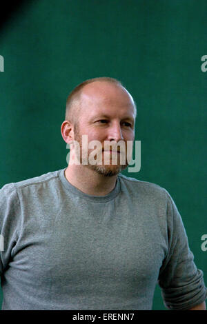 Lars Husum, Danish writer at the Edinburgh festival 2010, Edinburgh, Scotland, UK, 18 August 2010. - Stock Photo
