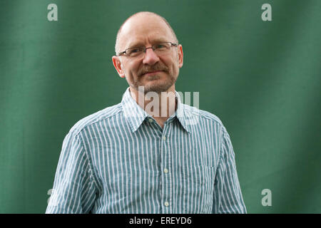 James Robertson at the International Book Festival 2011.  Scottish writer and poet: 1958 - . - Stock Photo