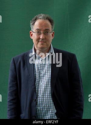 Gideon Rachman  at Edinburgh International Book Festival 2011 - Stock Photo