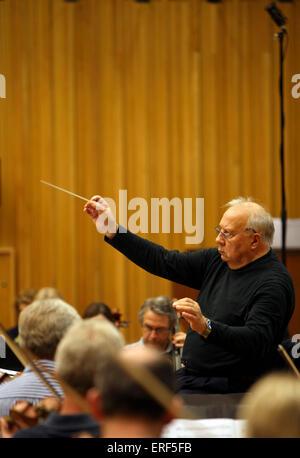 Neeme Jarvi - Estonian conductor 1937 - Stock Photo