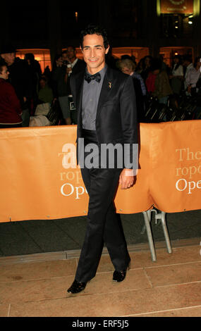 Designer Zac Posen attend the 2012 Metropolitan Opera Season opening night performance of L'Elisir D'Amore, September - Stock Photo