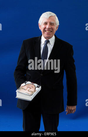 Jack Straw, British Labour party politician, Home and Foreign Secretary under Tony Blair attended the Edinburgh - Stock Photo