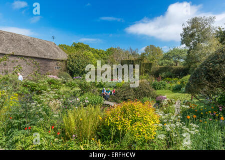 Great Dixter House and Gardens. Northiam, Rye. East Sussex. England. UK - Stock Photo
