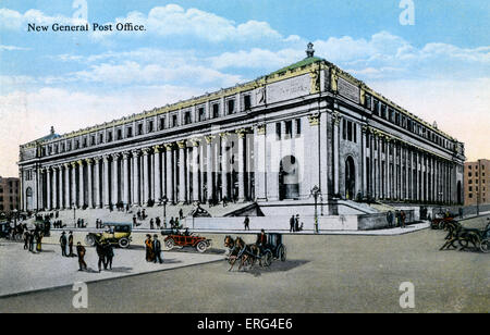 New York: New General Post Office - Stock Photo