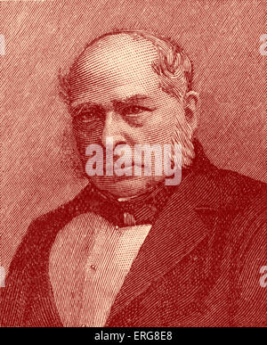 Sir Charles Wheatstone - portrait. English scientist and inventor, best known for contributions to development of - Stock Photo