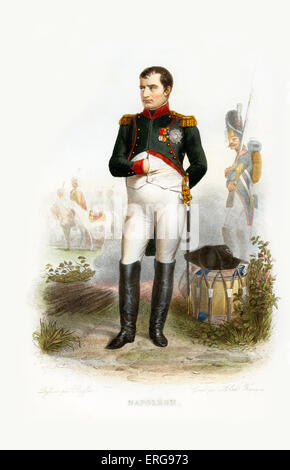 a biography of napoleon bonaparte a french military and political leader - napoleon bonaparte the ideas of modern war can lead back to the 18th century during a certain campaign by a french military leader this military leader was named napoleon bonaparte he started a campaign against western europe that defined war and his strategies echoed throughout time up until the second world war.
