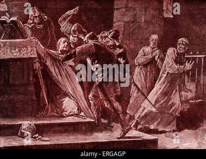 henry vs becket There is a wonderful treatment of this in becket, when henry ii complains that his  chancellor serves his personal guests on golden plates,.